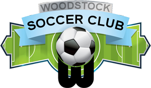 logo for woodstock soccer club
